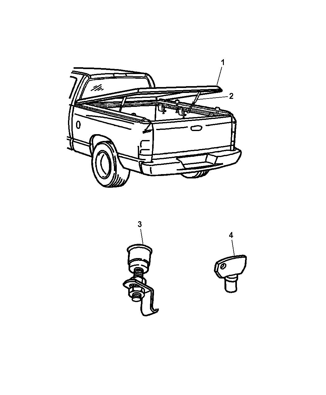 Dodge Dakota Cover Kit