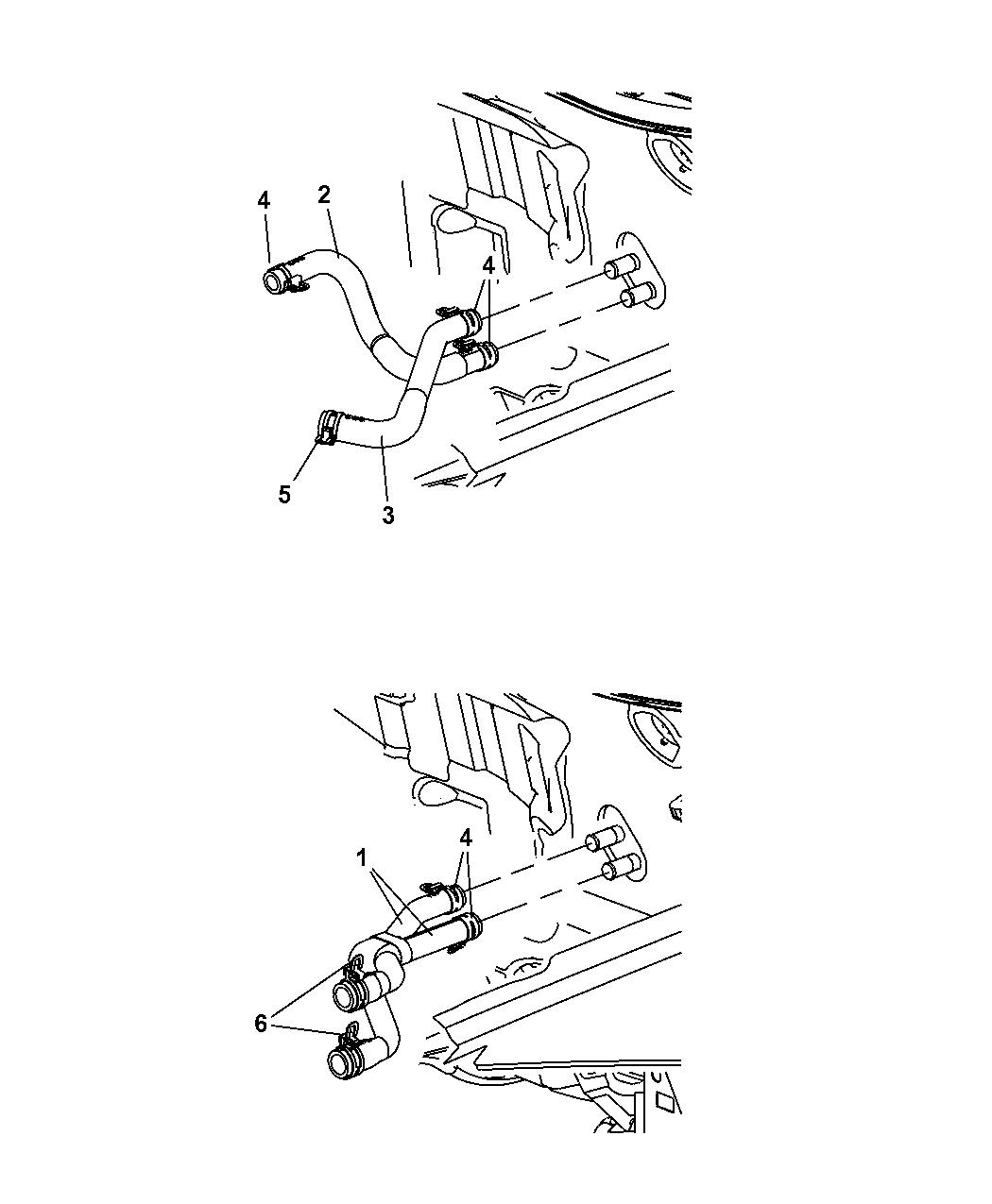Dodge Caliber Plumbing