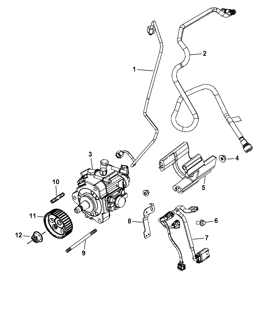 Jeep Wrangler Fuel Injection Pump