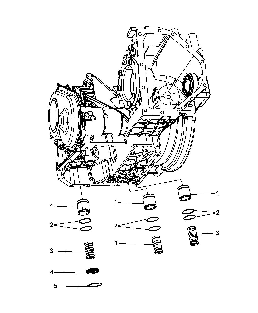 2008 Chrysler PT Cruiser Accumulator & Related Parts