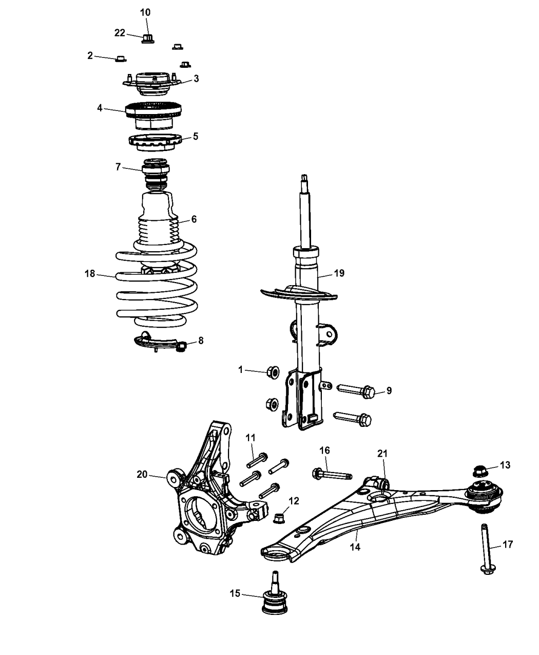 Dodge Grand Caravan Suspension
