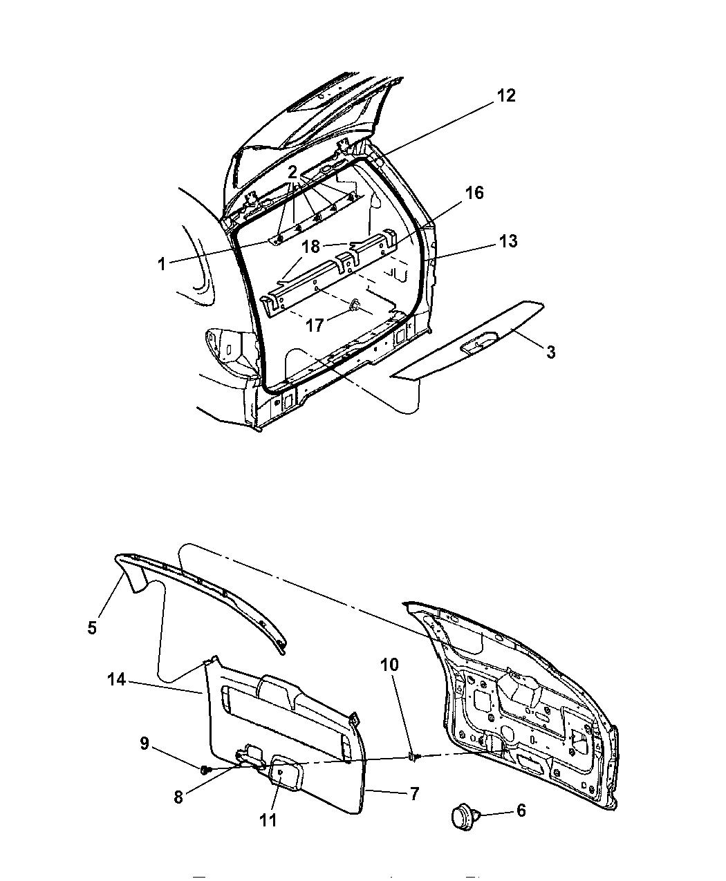 Dodge Caravan Panel