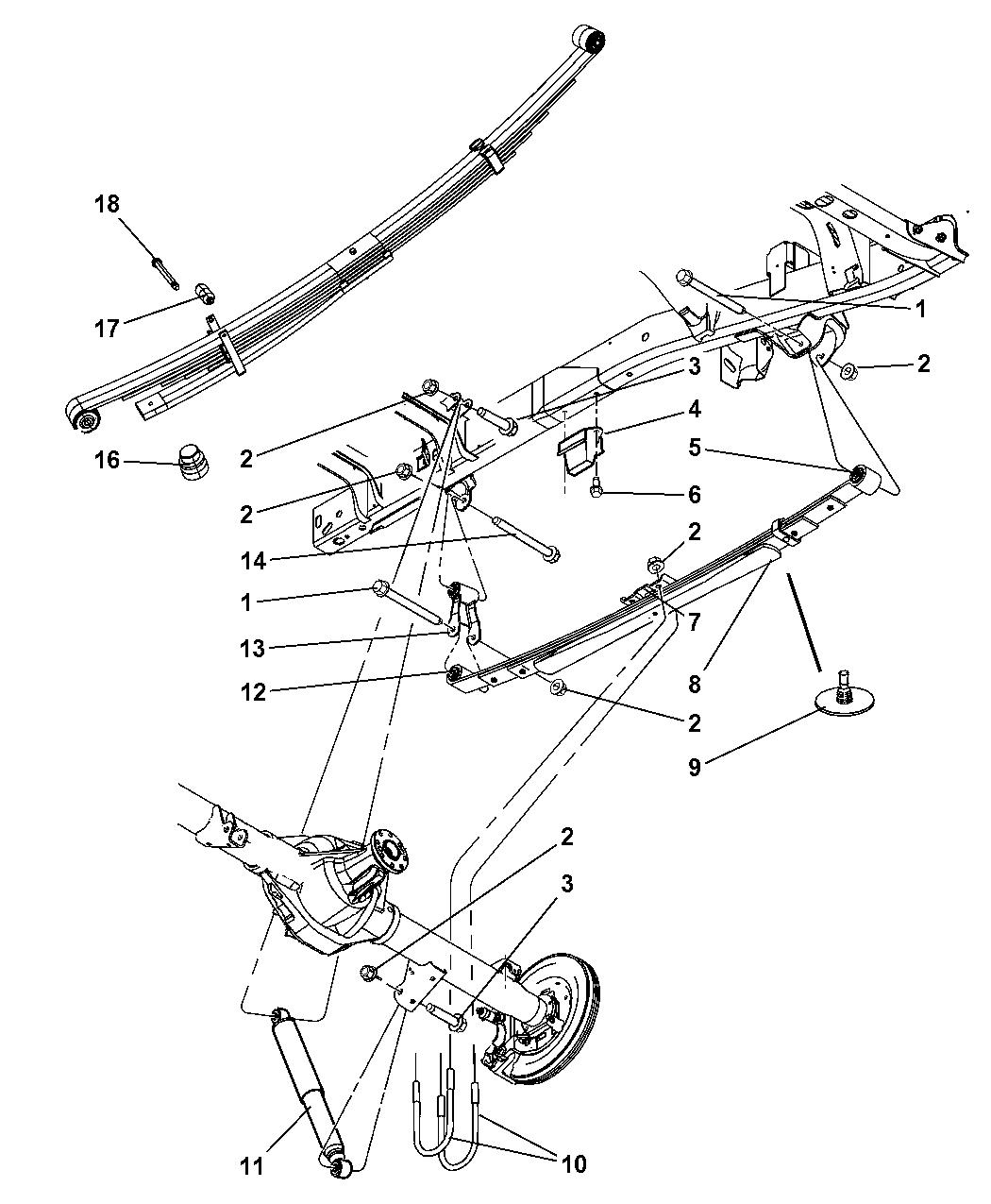 Dodge Ram Suspension