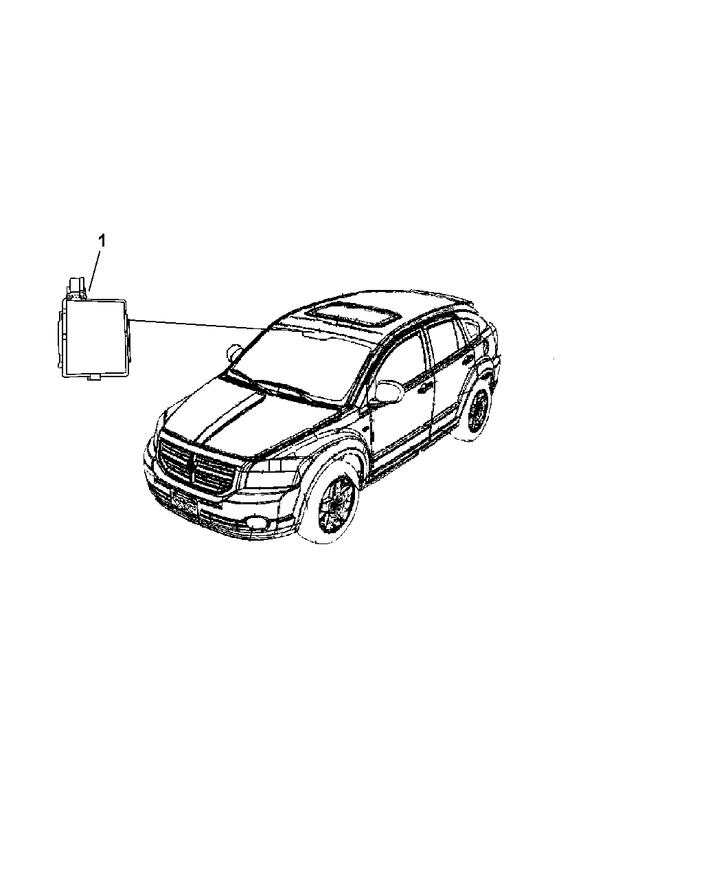 Jeep Compass Modules Overhead