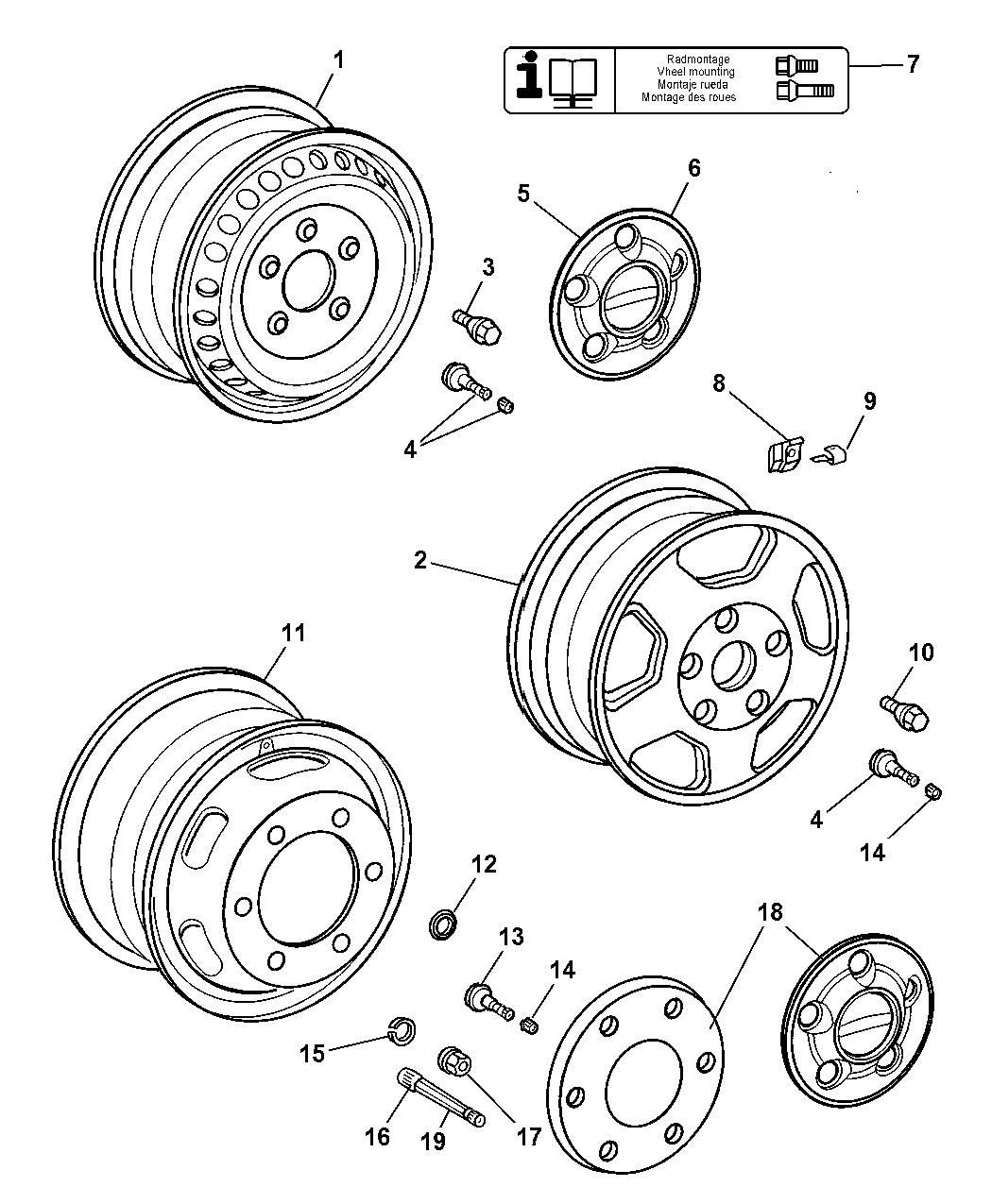 Dodge Sprinter Wheels Amp Hardware