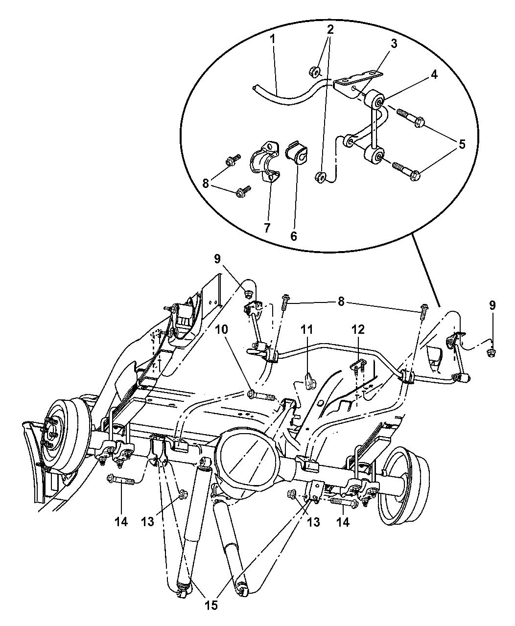 Dodge Dakota Stabilizer