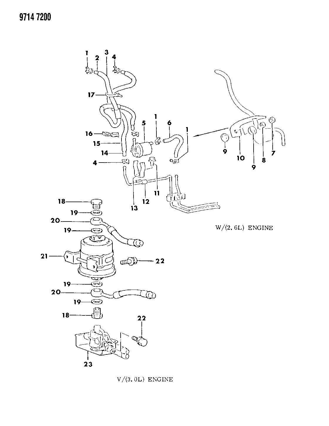 Dodge Raider Fuel Filter