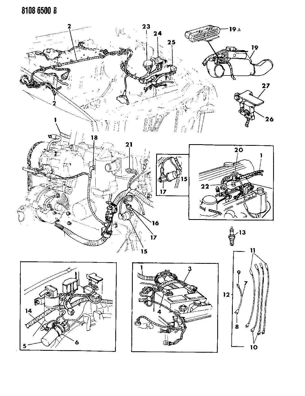 Dodge Daytona Wiring Diagram