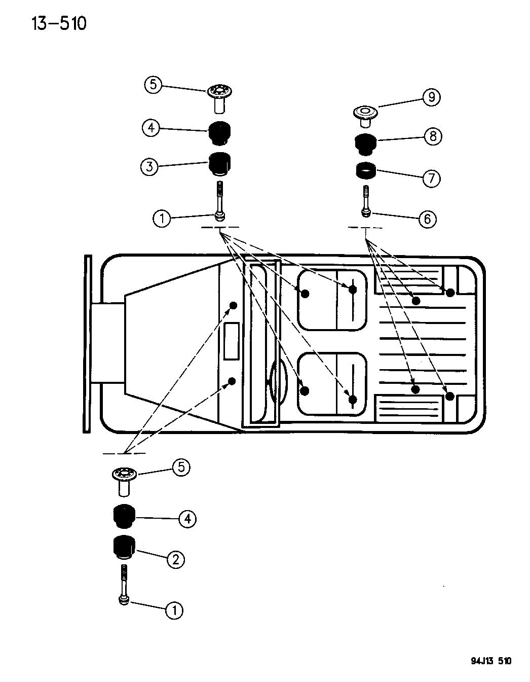 Jeep Wrangler Body Parts Diagram : Wiring Diagram: 31 Jeep