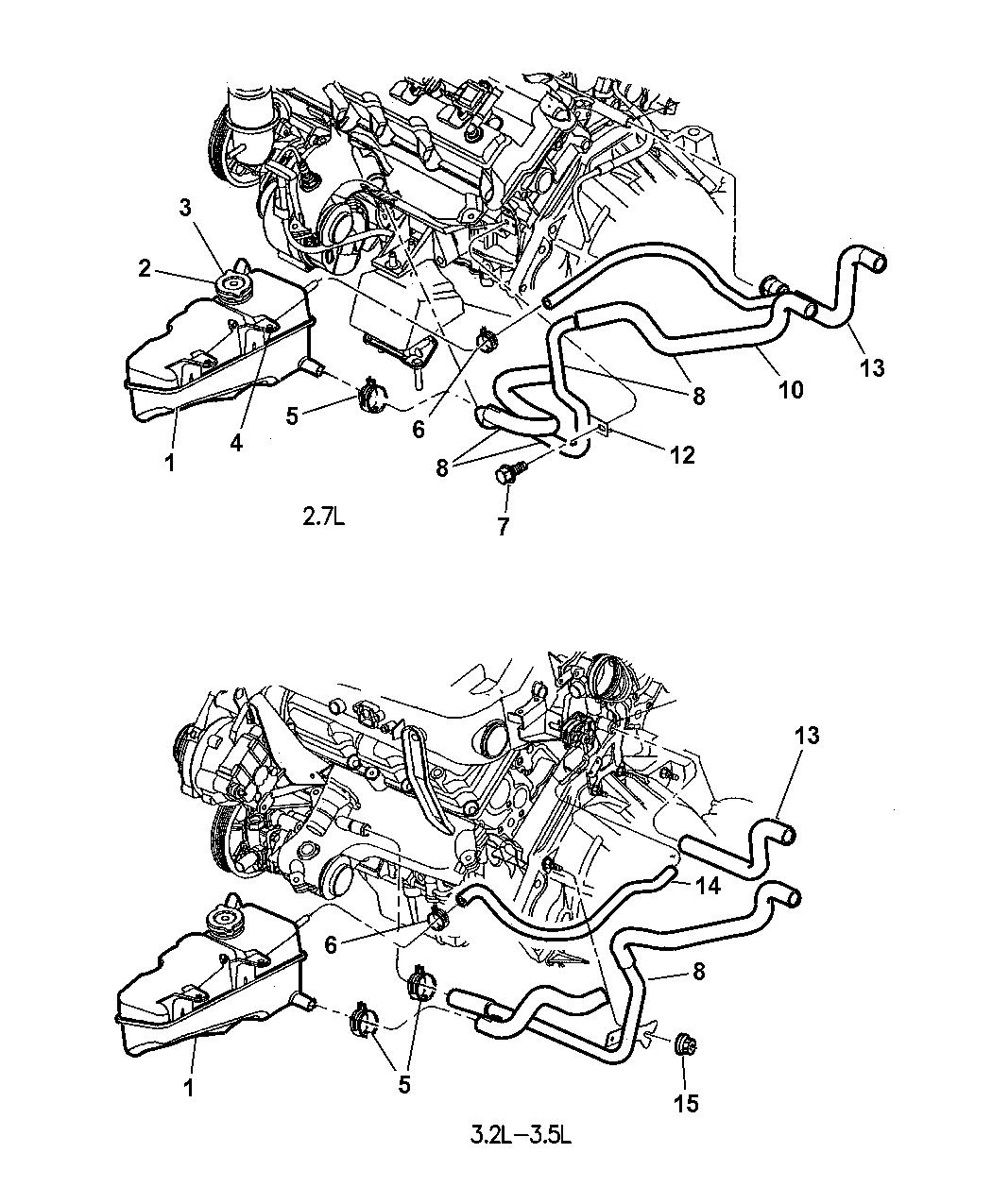 Chrysler 300m Plumbing