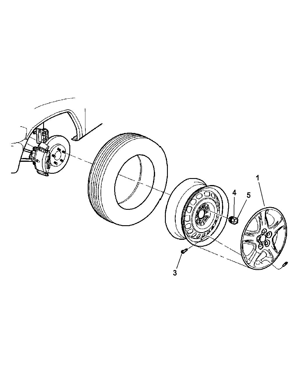 Dodge Grand Caravan Covers Amp Caps Wheel