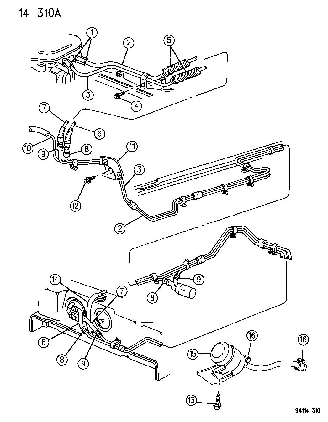 Chrysler Lebaron Gtc Fuel Lines Amp Filter