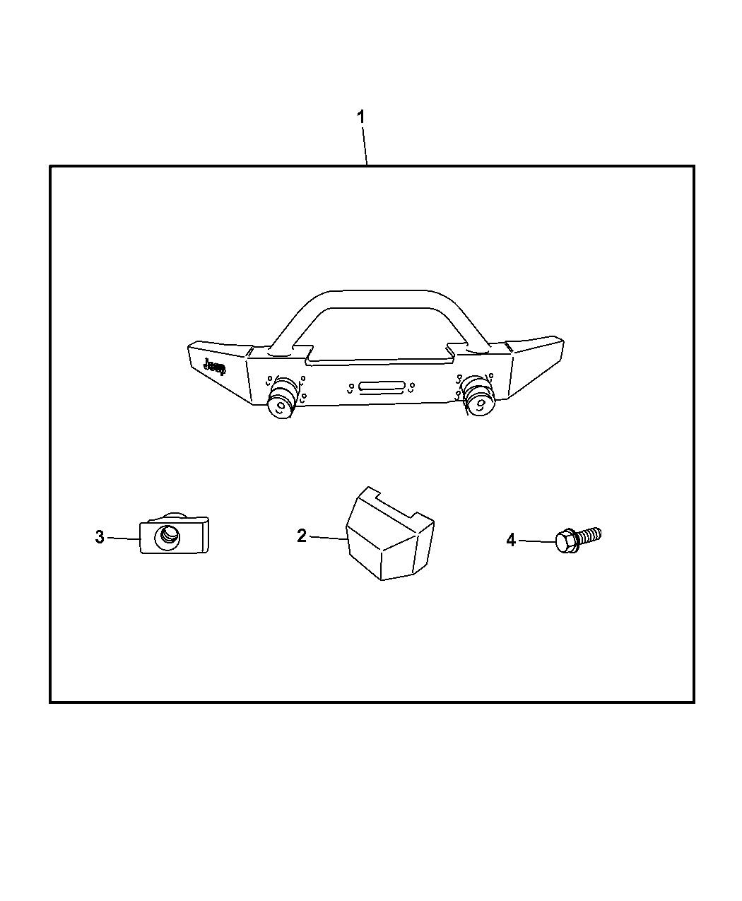 Jeep Wrangler Bumper Kit