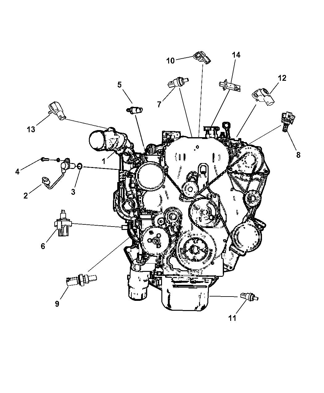 Jeep Patriot Sensor