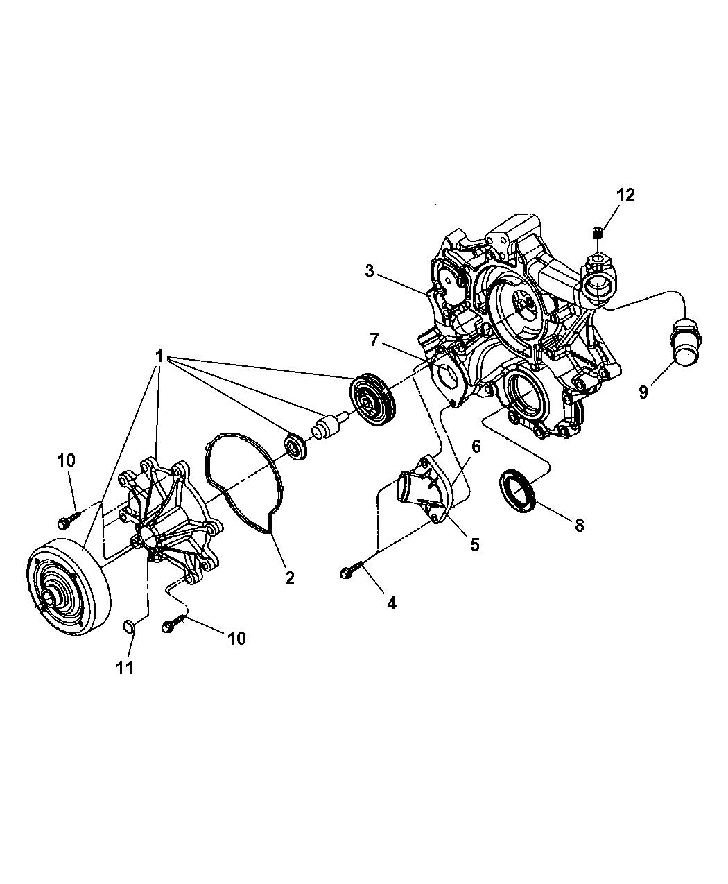 Dodge Dakota Water Pump Amp Related Parts