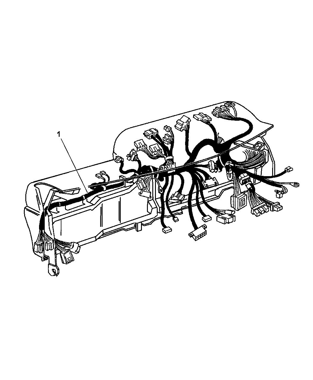 Dodge Ram Regular Cab Wiring