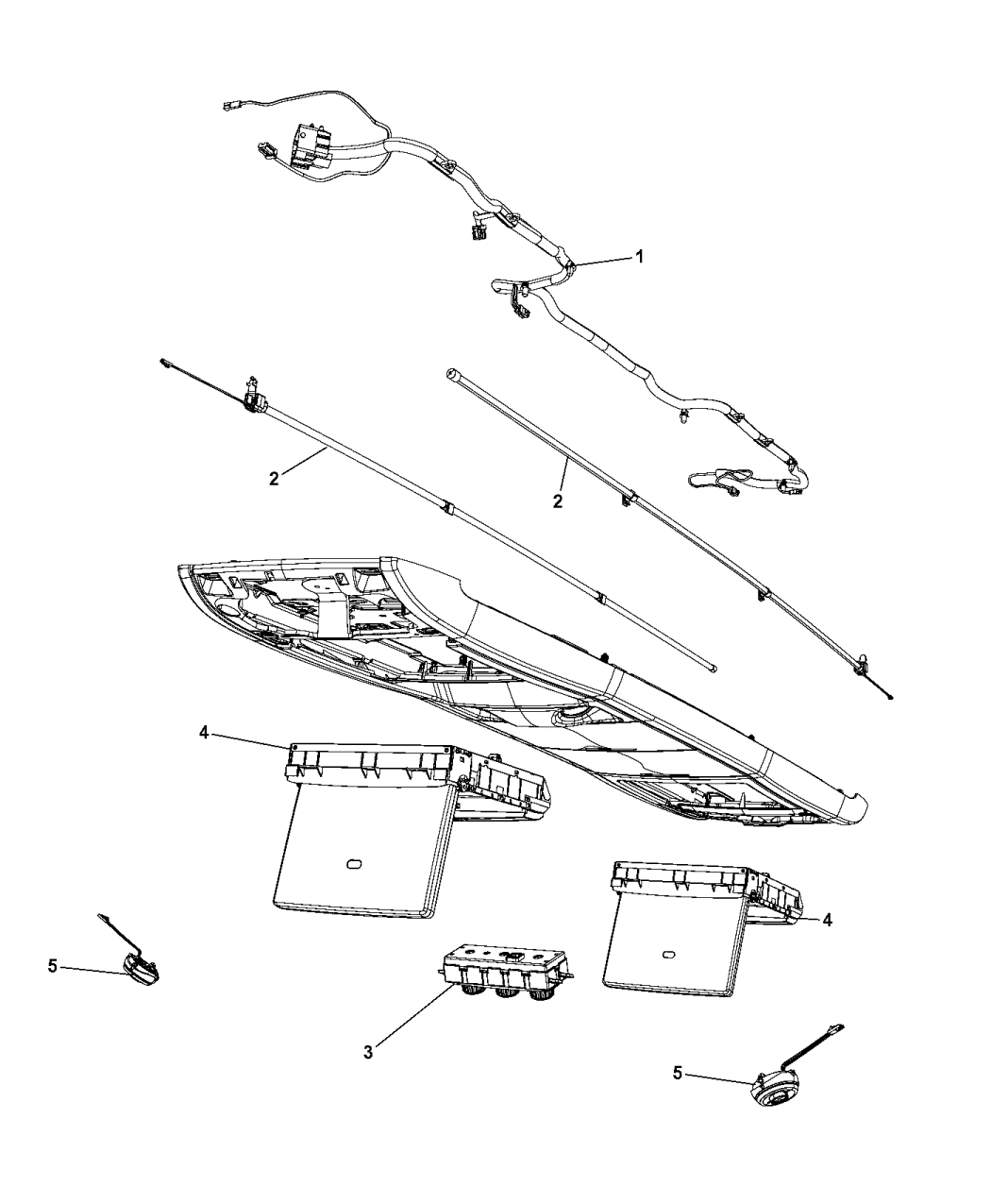 2015 Chrysler Town And Country Parts Diagram