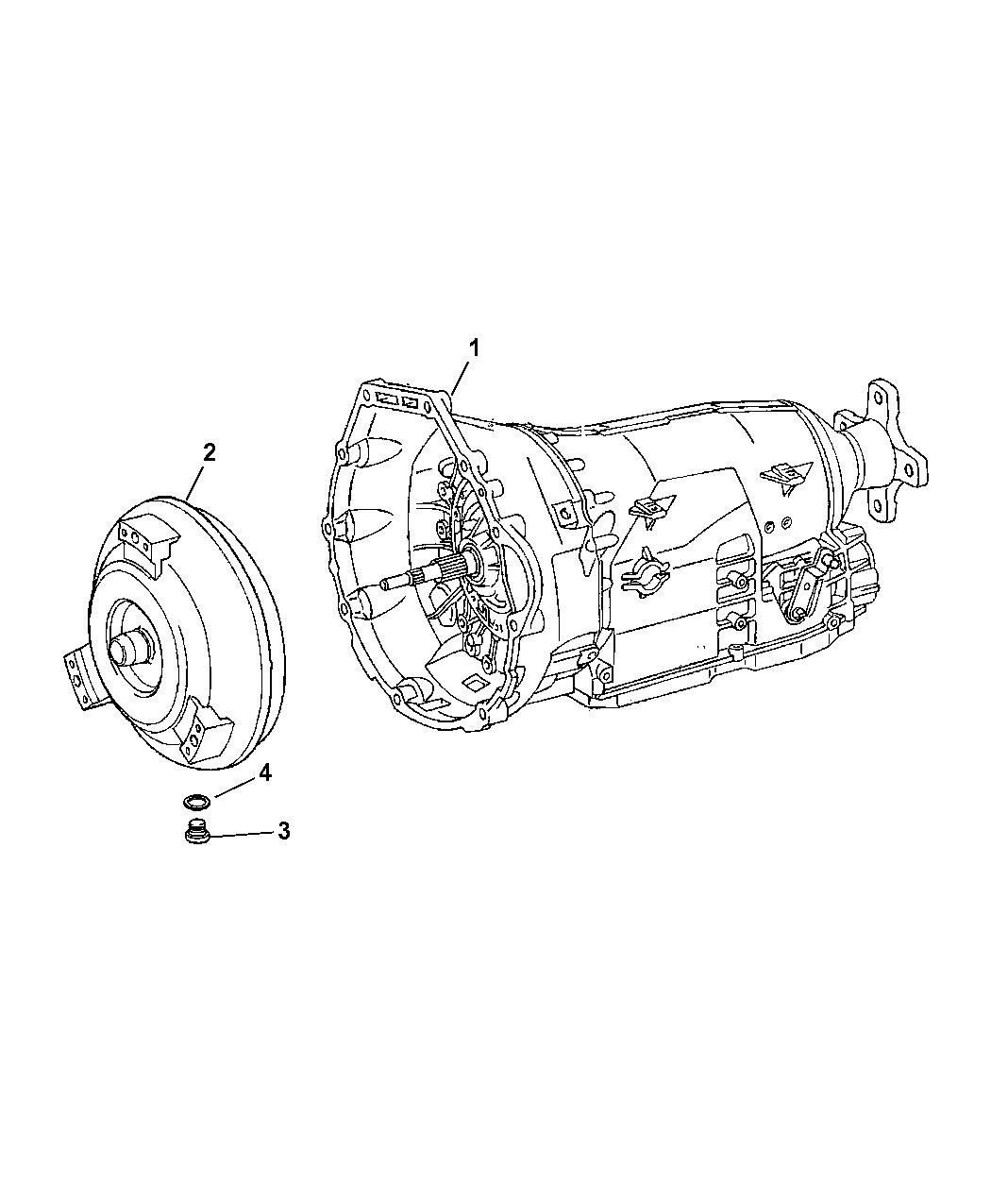 2008 Dodge Sprinter 2500 Transmission / Transaxle Assembly