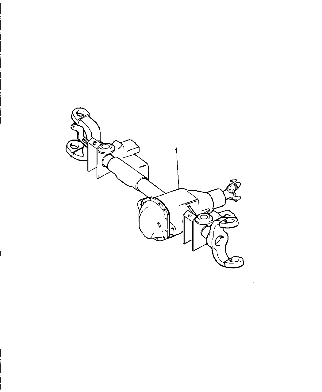 Dodge Ram Front Axle Assembly