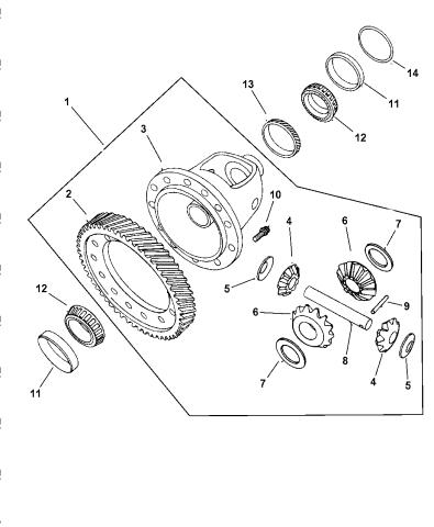 1999 Chrysler Sebring Convertible Differential