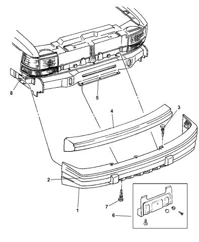 bumper front 1998 jeep grand cherokee