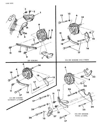 318 Engine Wiring Diagram / 74 Dodge 318 Engine Wiring