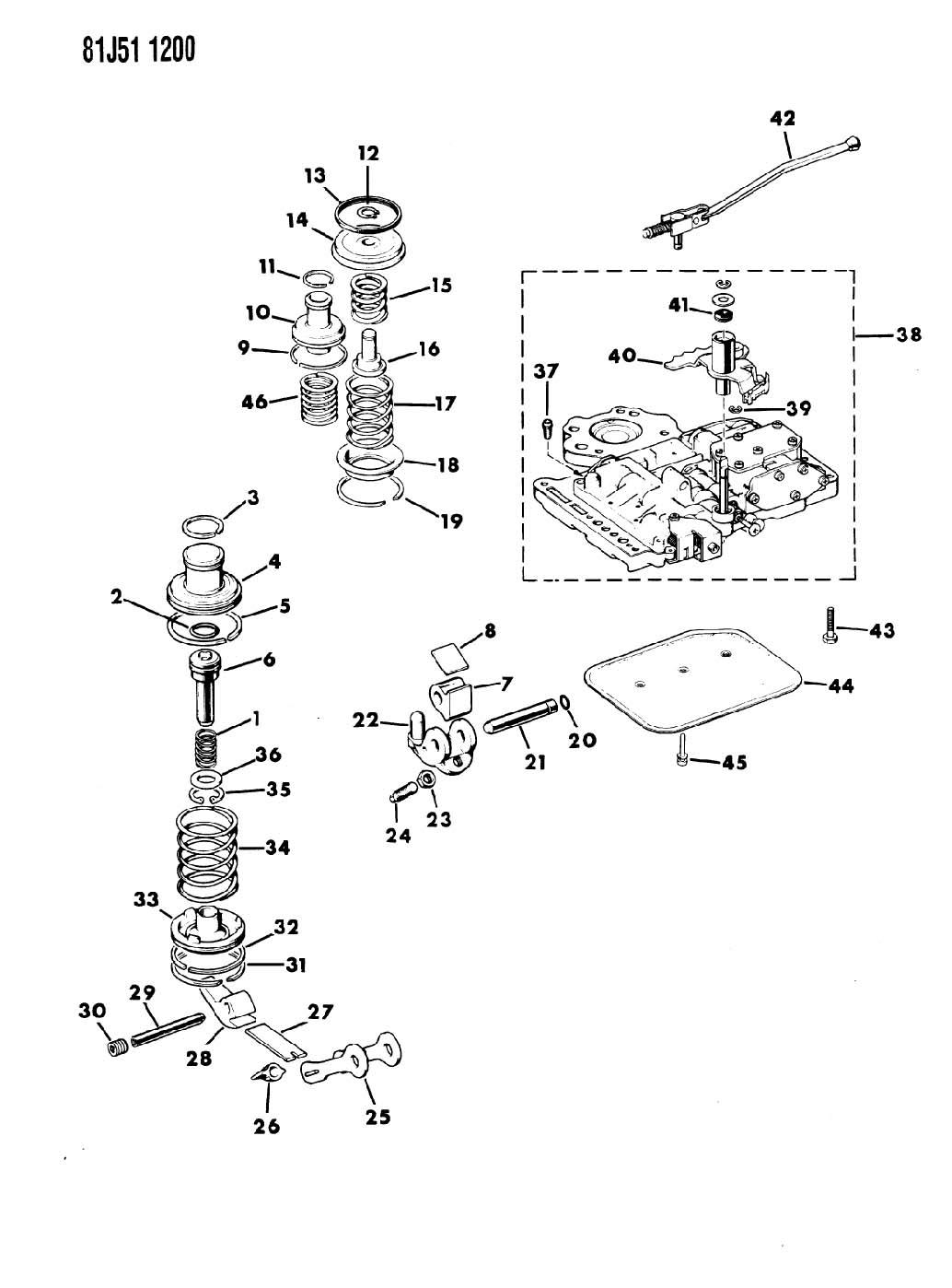 Jeep Grand Wagoneer Valve Assembly Body Valve Body