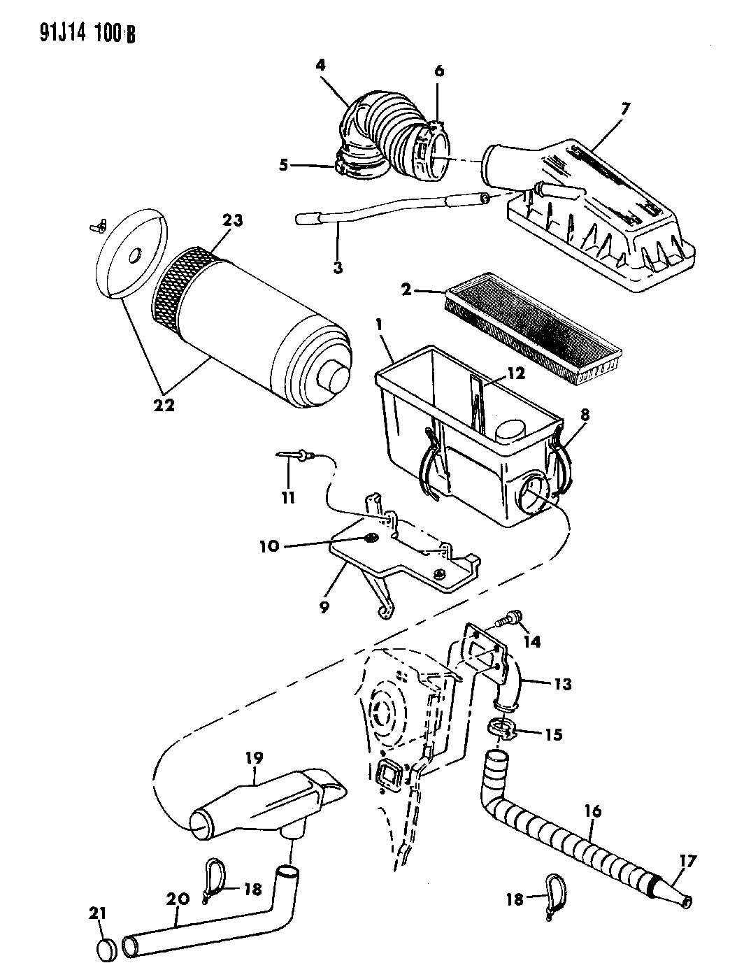 1993 Jeep Yj Wrangler Parts Diagrams • Wiring Diagram For Free