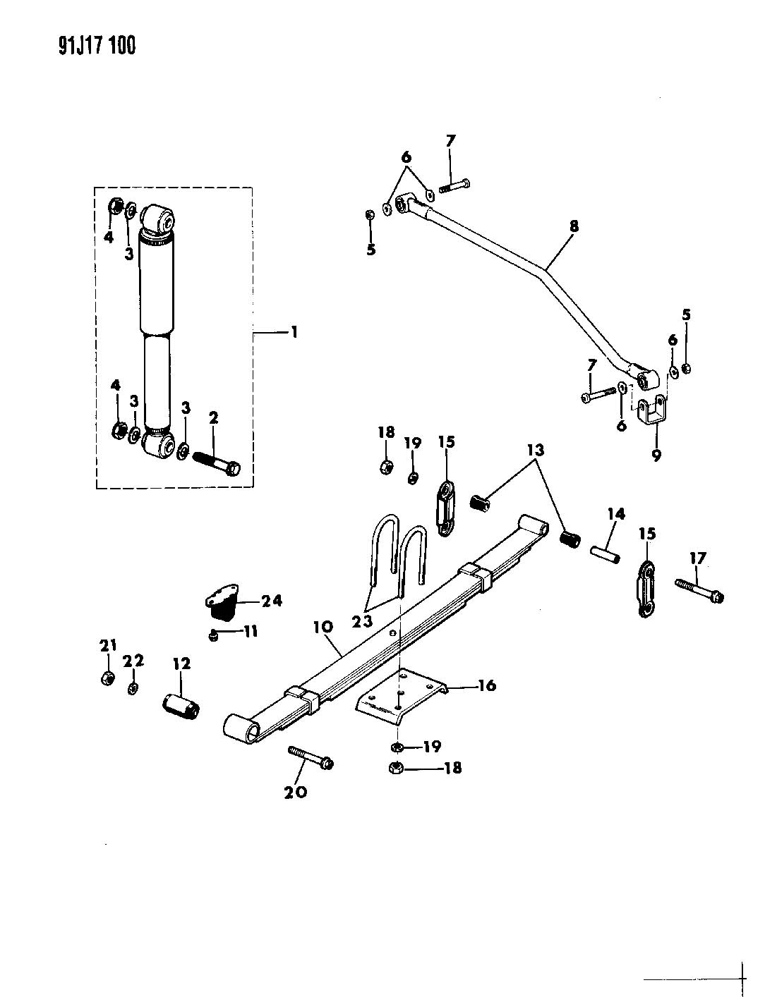 jeep tj front suspension diagram 2000 mustang factory radio wiring yj steering imageresizertool com