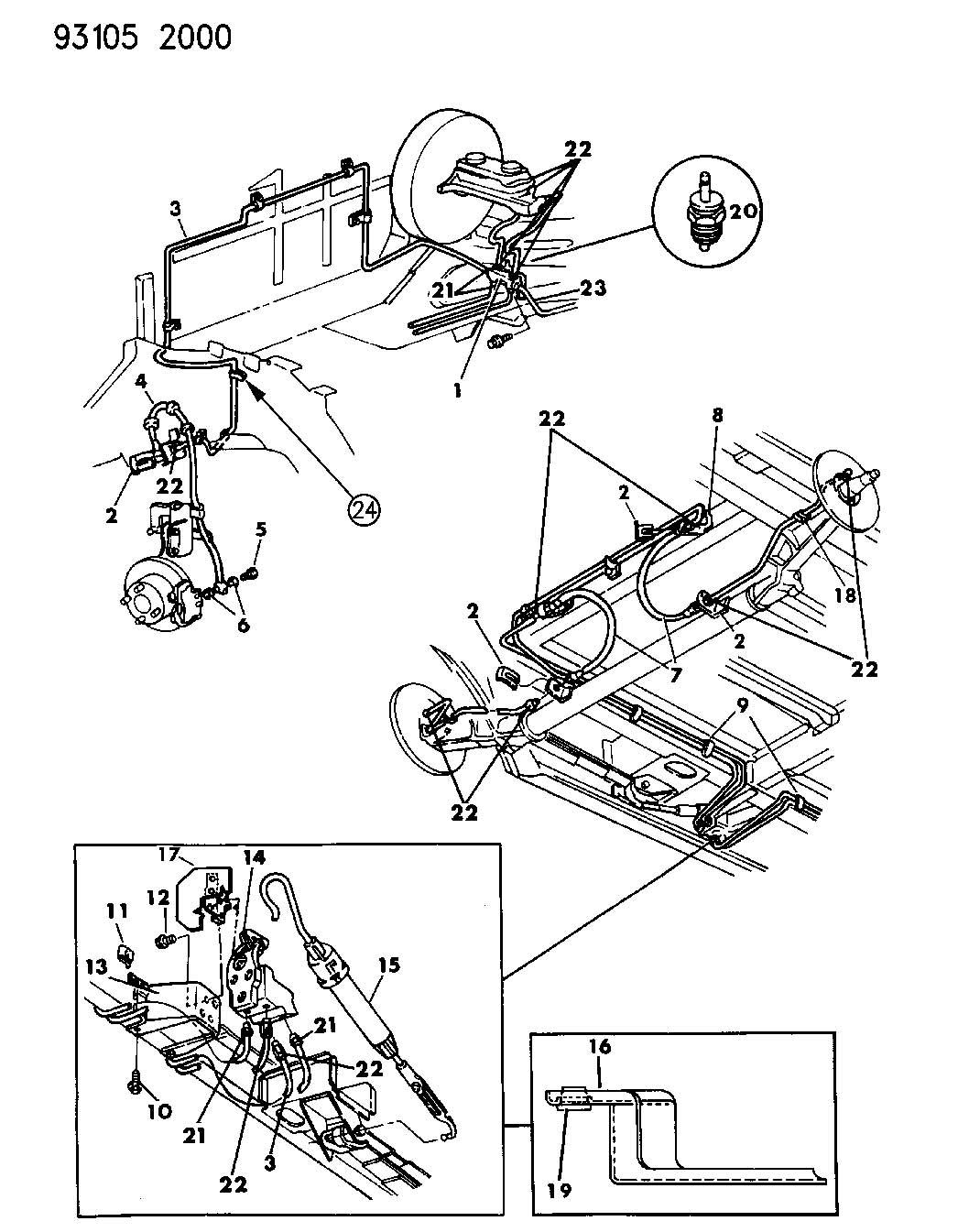 1988 Dodge Grand Caravan Valve. Height sensing brake