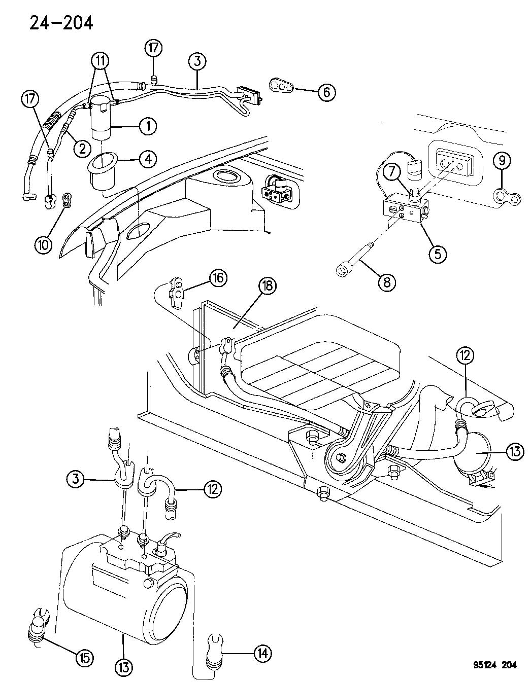 Service Manual Ac Repair Diagram Chrysler Concorde
