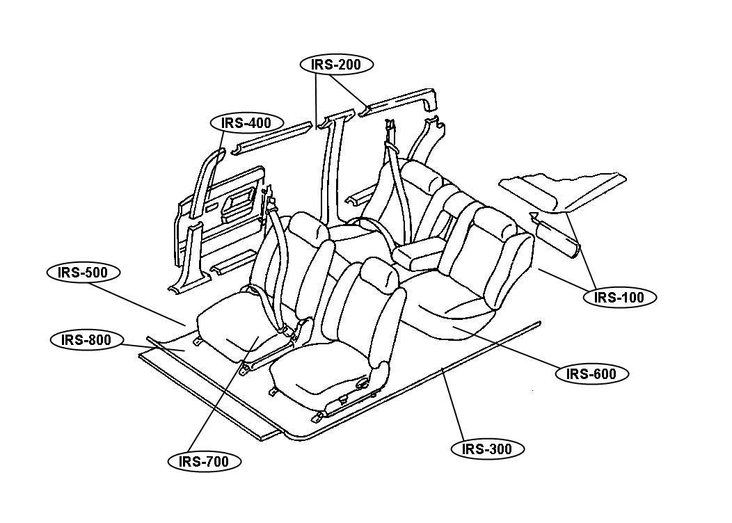 1986 Chrysler LeBaron Spacer. Steering column. Lower, tilt