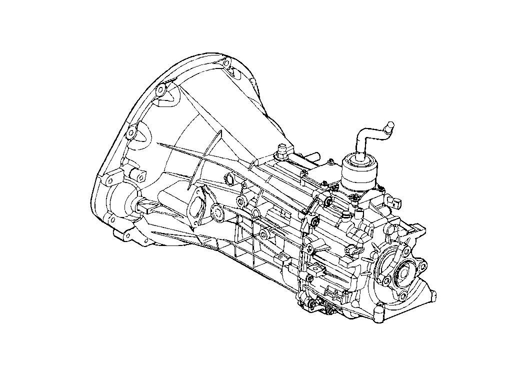2000 Dodge Grand Caravan Hose & connector. Fuel rail to
