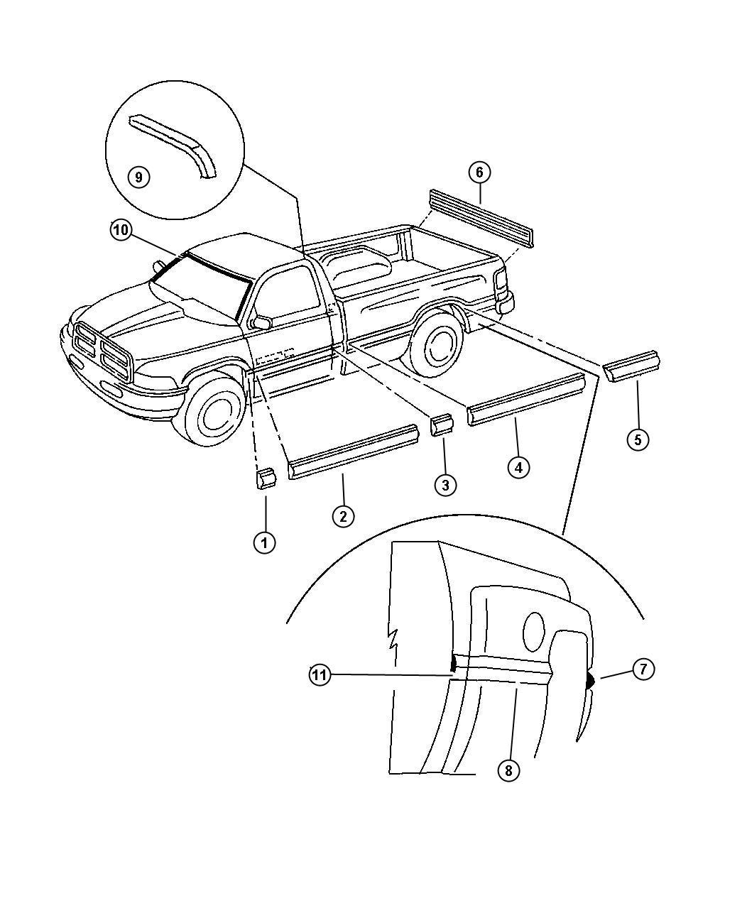Dodge Ram Applique Tailgate Grouplique Tailgepic