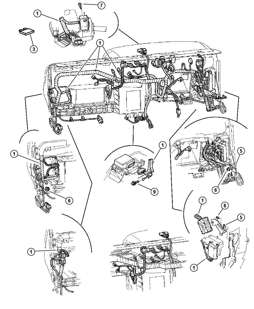 Dodge Dakota Flasher. Turn signal/hazard, turn signal