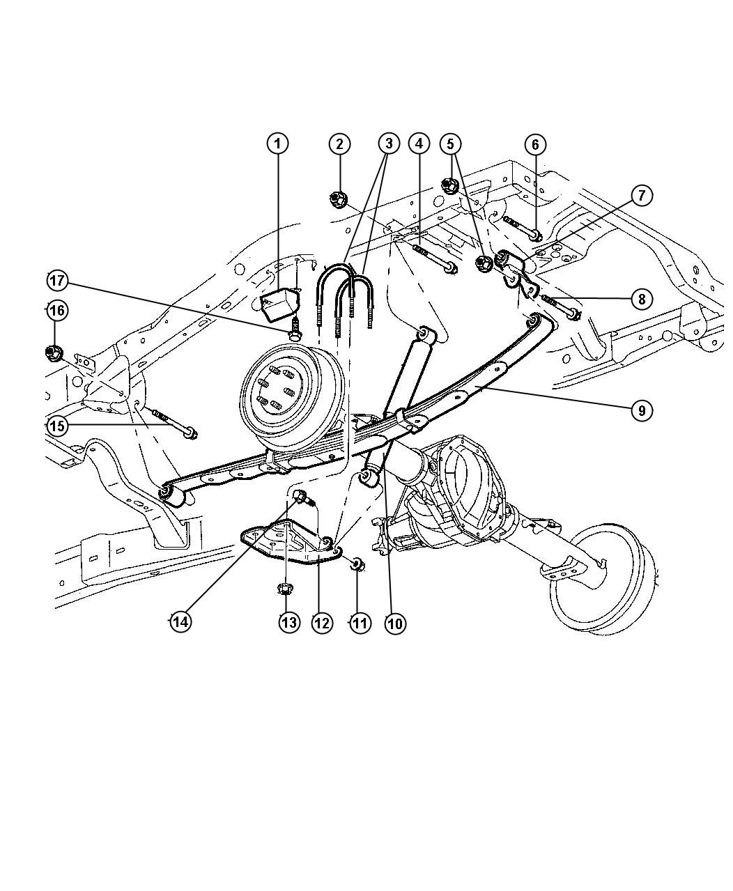 Dodge Durango Diagram