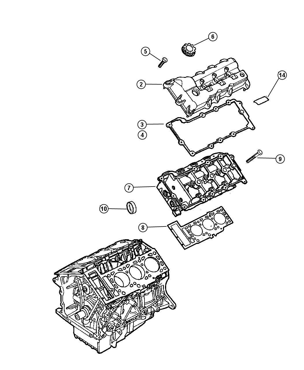 Dodge Intrepid Bolt Hex Flange Head M11x1 50x152 00