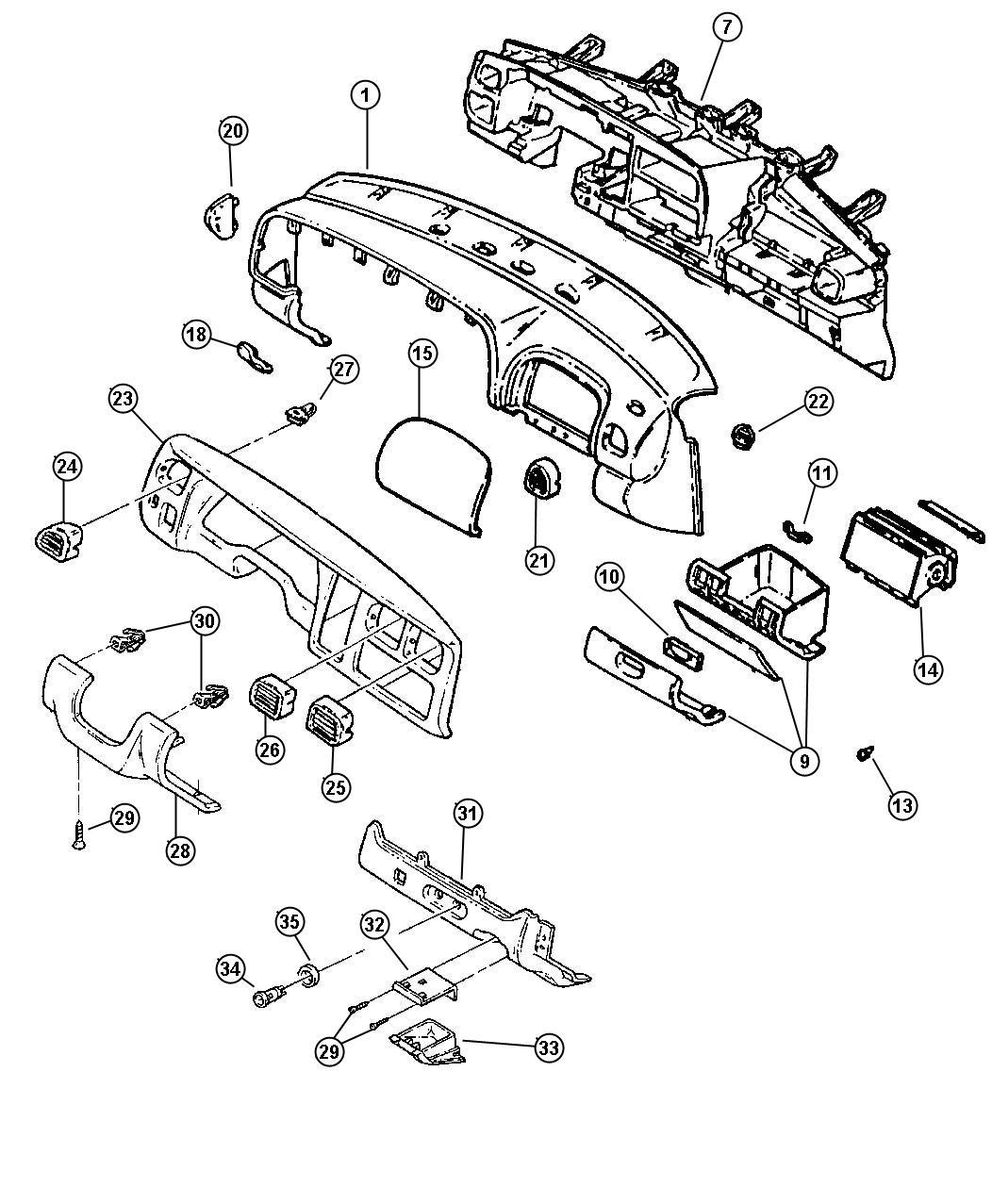 2007 Dodge Caliber Handle. Parking brake. Trim: [all trim