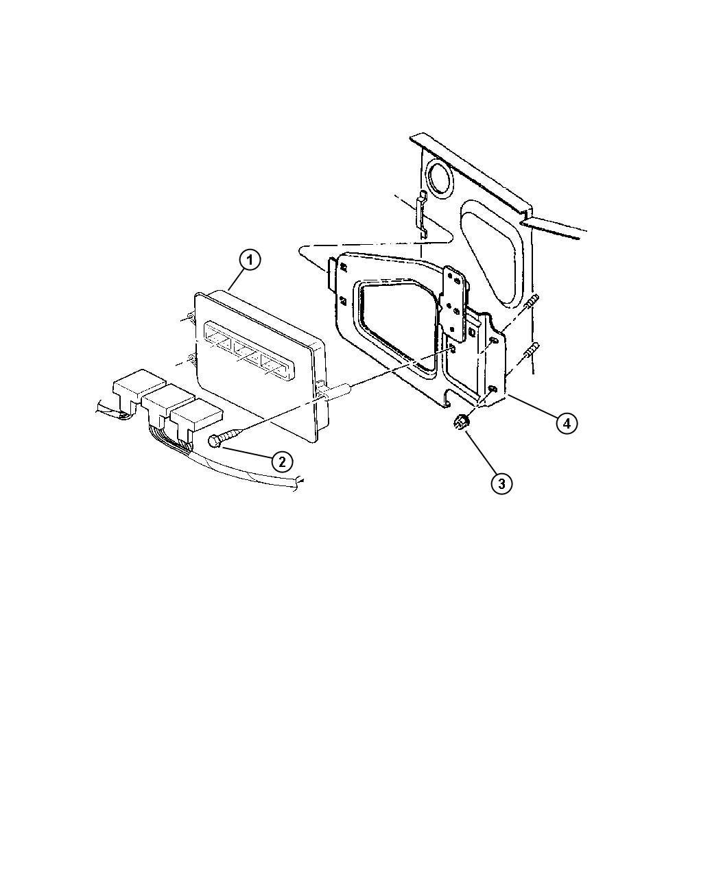 Dodge Ram Module Powertrain Control