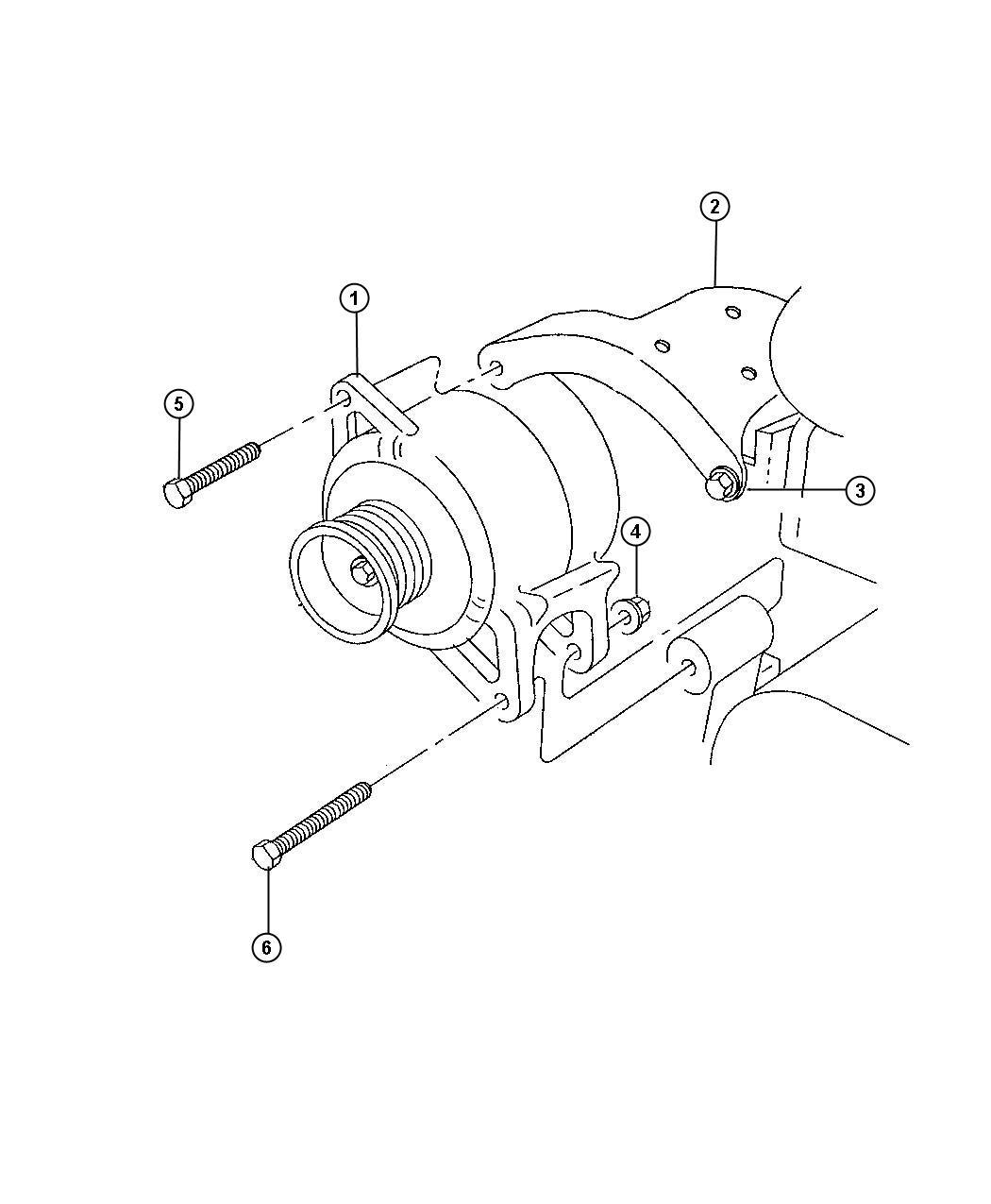 Dodge Ram Generator Engine 120 Amp Alternator