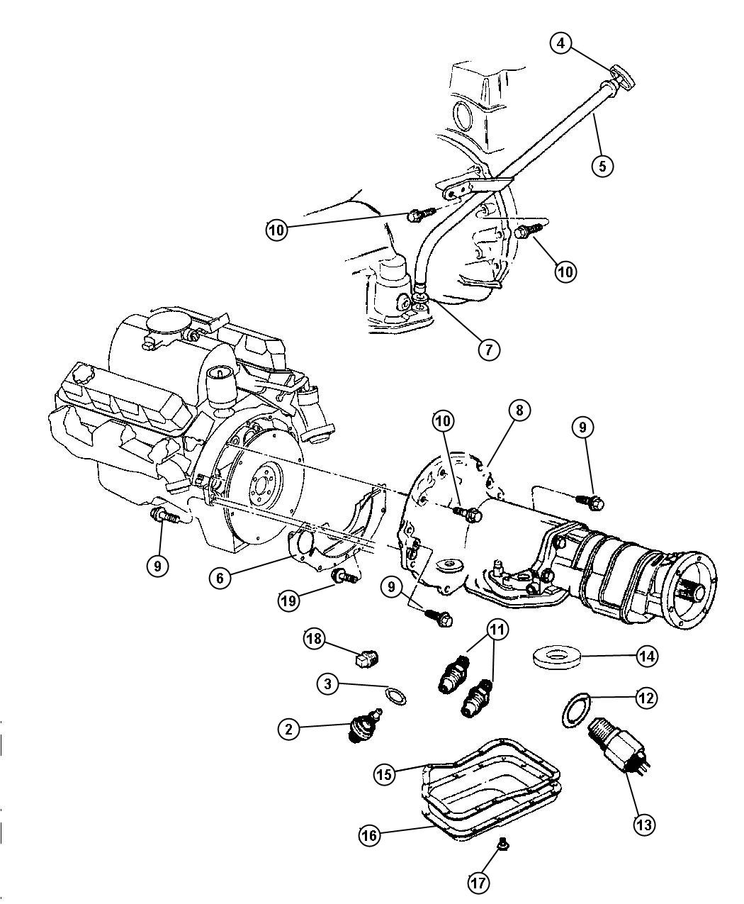 Dodge Durango Switch. Neutral safety, back up, neutral