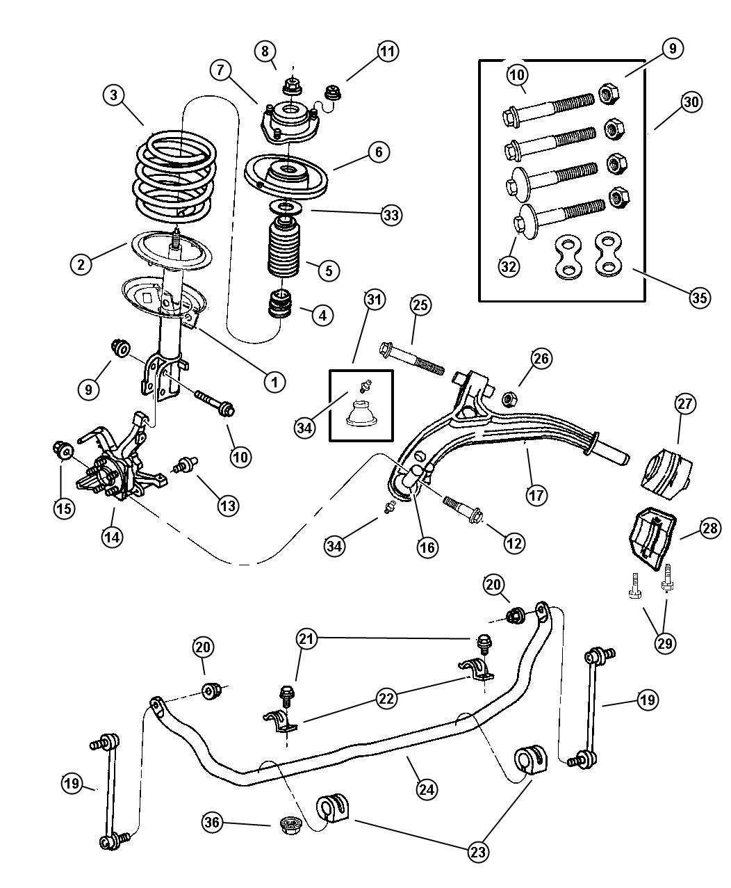 Ram Front Suspension Diagram