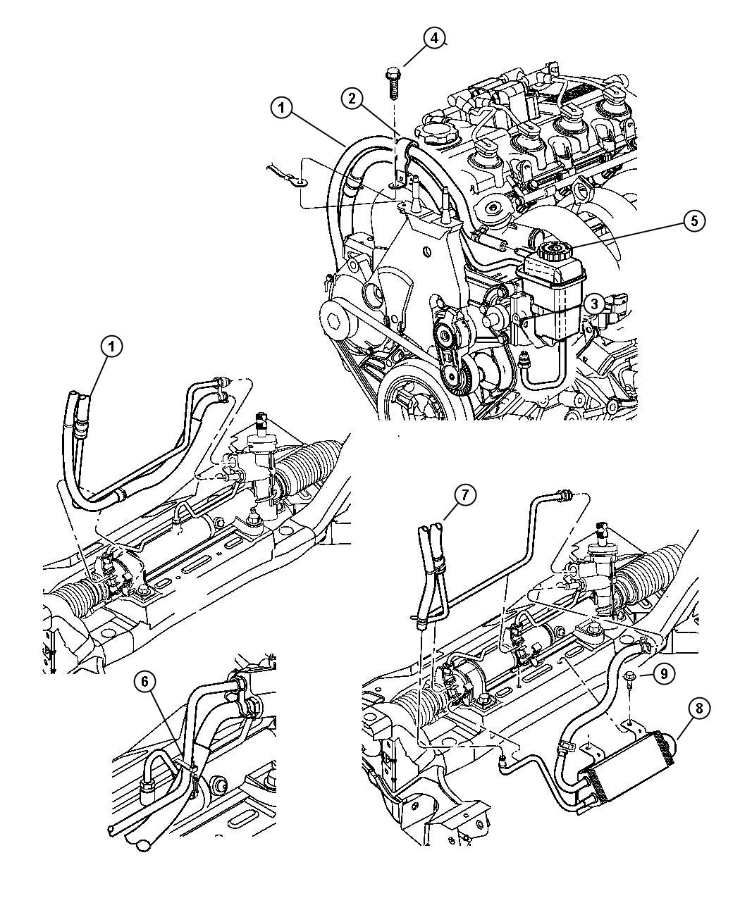 Dodge Neon Power Steering Diagram