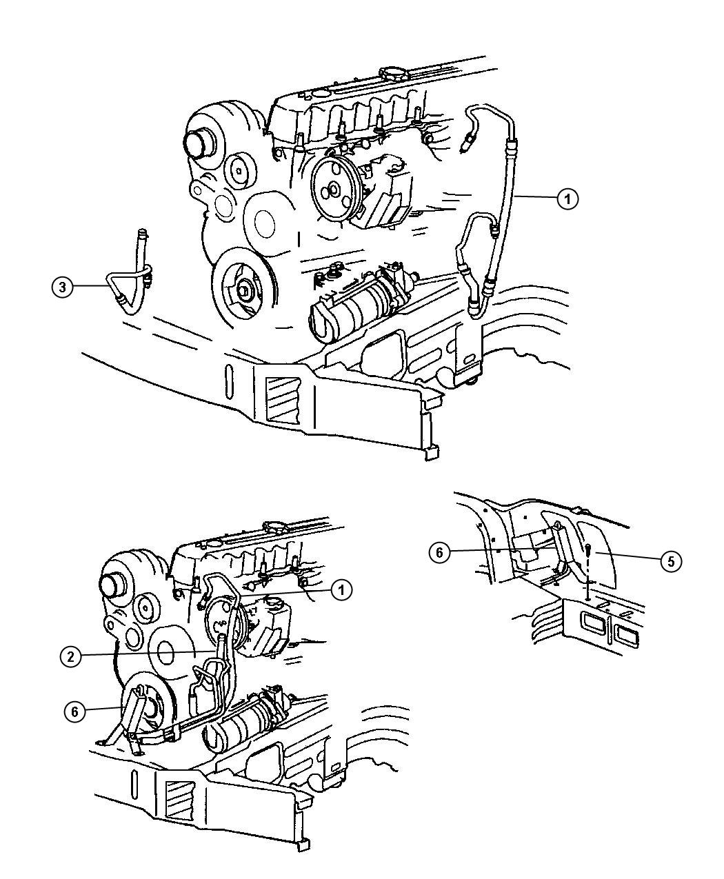 2004 Dodge Caravan Engine Hose Diagram