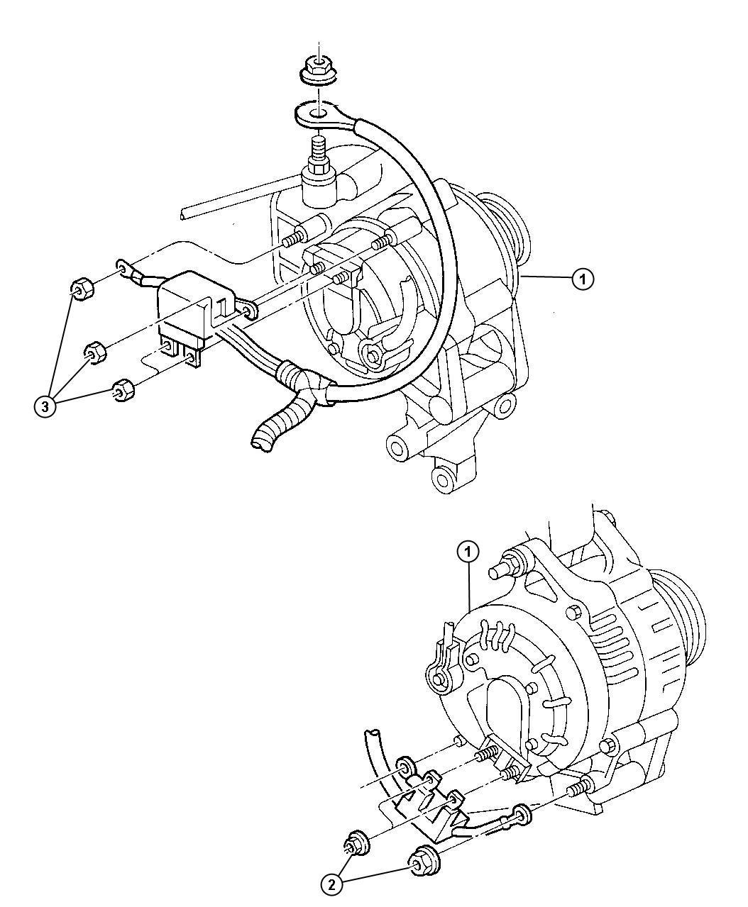 2013 Chrysler 200 Alternatr. Engine. [117 amp alternator