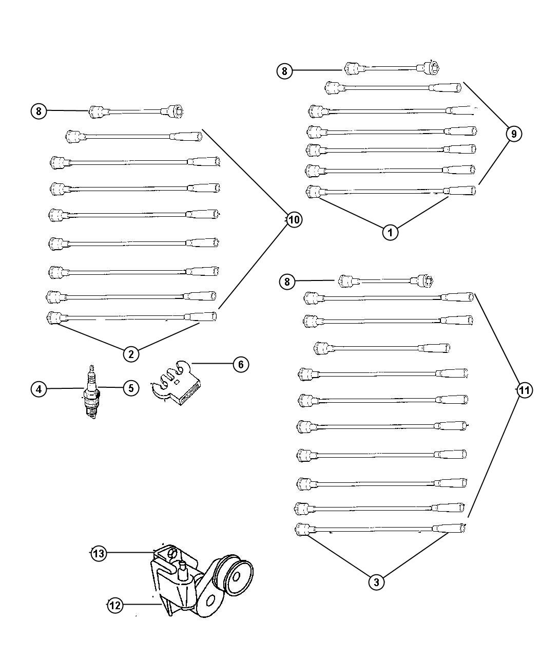 Dodge Ram Cable Ignition 7 7 7