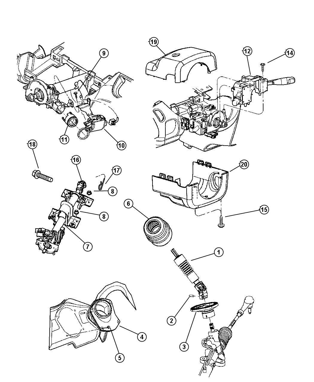 Dodge Neon Coupling Steering