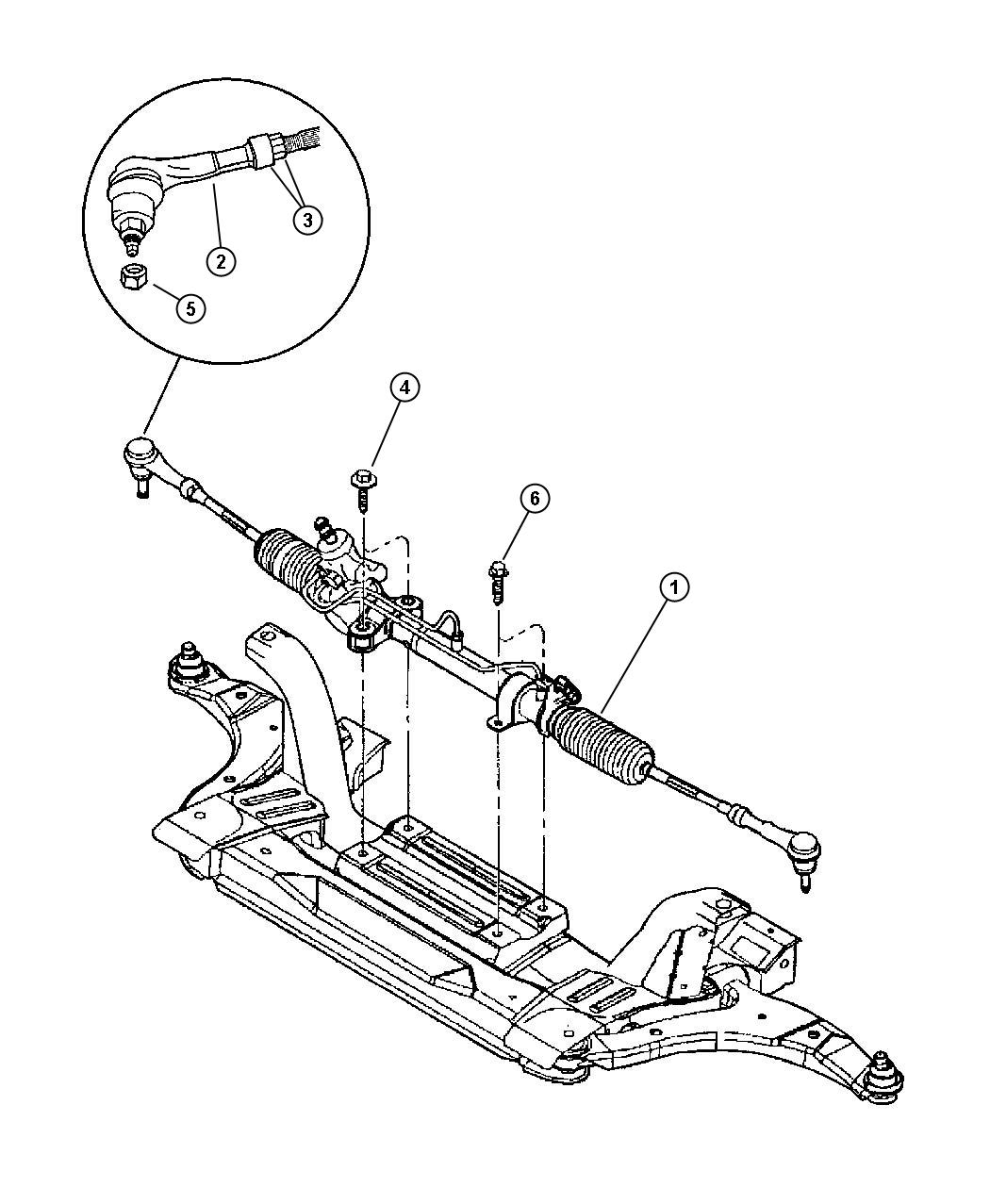 2001 Dodge Neon Gear. Power steering. Sba, rack, pinion