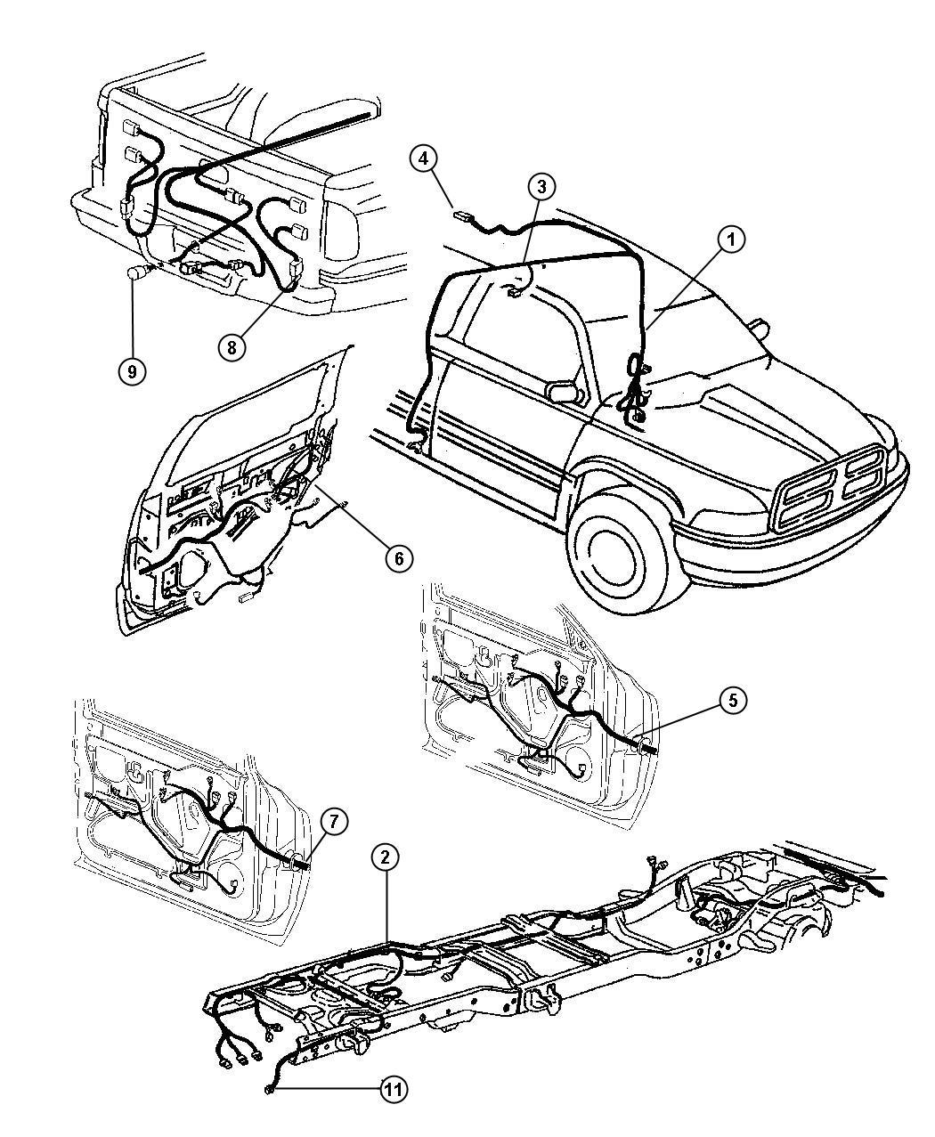 Dodge Ram 1500 Wiring. Air intake heater. Diesel engine