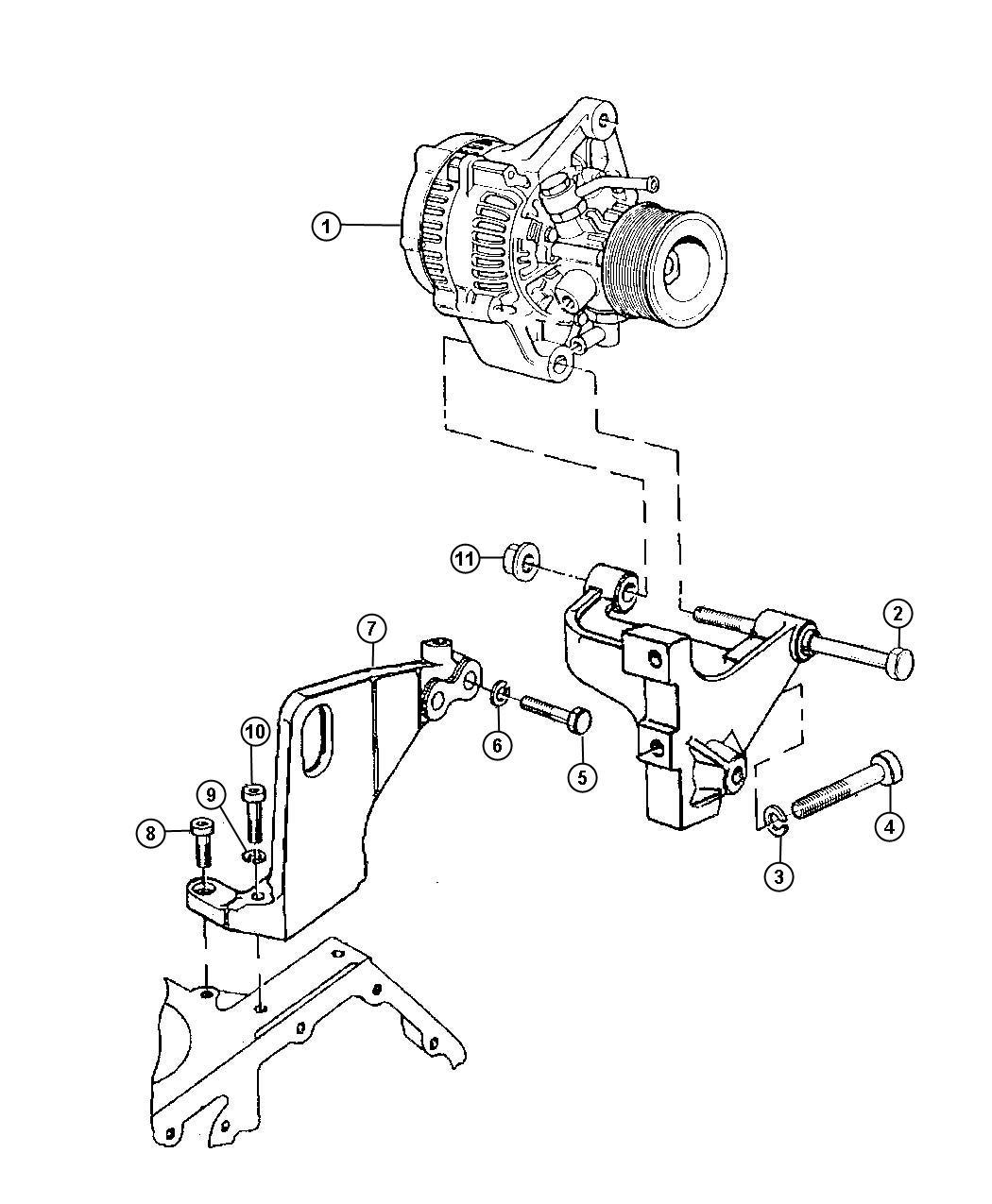 Jeep Grand Cherokee Alternatr Engine Alternator